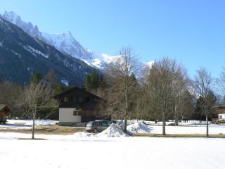 location of the chalet in chamonix, Les Praz-de-Chamonix