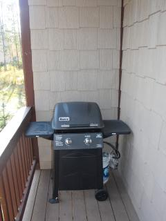 Gas Grill on Deck