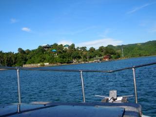 approaching west side of Secret Island Resort