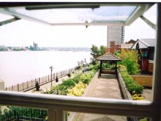 View up river from a Lounge windows