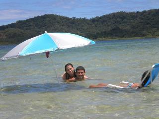 Frente ao mar  no Paraiso de Cacoes_Apt 3 quartos