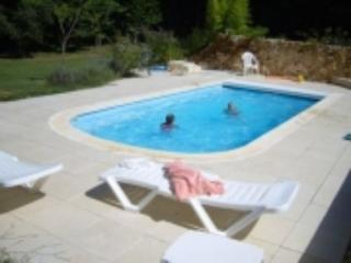 Les Petite Bressettes Stone built gite sleeps up to 9 -Heated Chlorine Free Pool