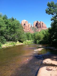 Red rocks crossing