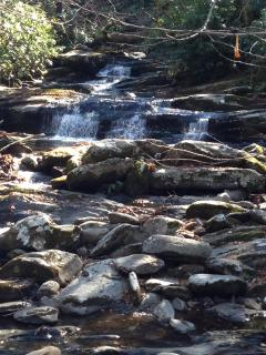 Stream on Chimneys trail