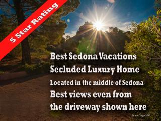 5 star Sedona resort home