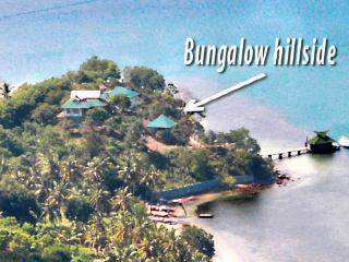 Bungalow On Hill Side - solar hot water, Lombok