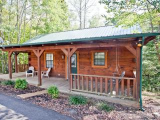 "Tellico Cabins ""Bear"" Log Cabin With Hot Tub"