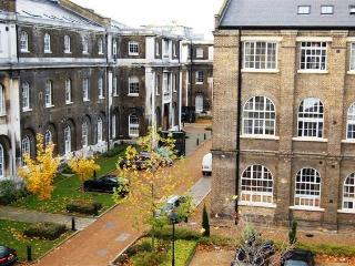 Historic Royal Arsenal, River View, Unique Family Apt - Great Transport