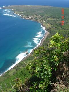 Kaluapapa overlook a must go to tour on North side of island