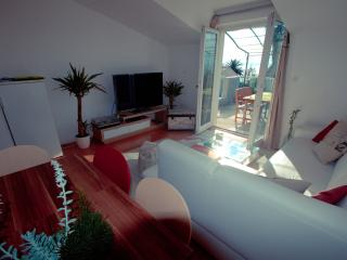 Living room (Plasma TV 55', cable TV, Air Conditioning...)