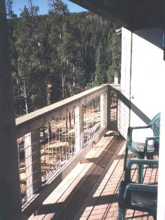 Balcony with Gas Grill and Terrific Views of Mountains and Lake Dillon