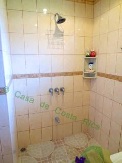 Large, Walk-In Italian Tile Shower.