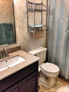 Mid Level Shared Full Bath - All 3 bathrooms have updated fixtures and quartz vanities