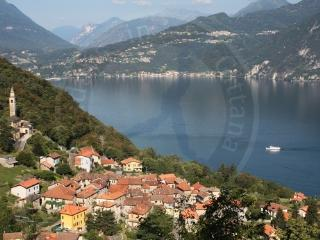 Lake Como beautiful romantic 2-4 p. apt Ca Pina, Perledo