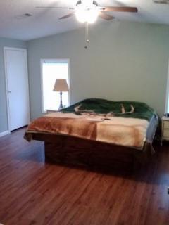 Large master bedroom    King