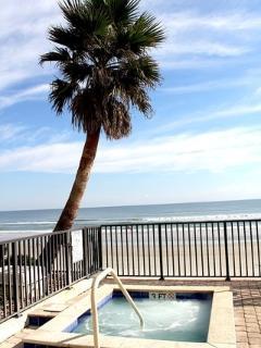Spa overlooking the Ocean