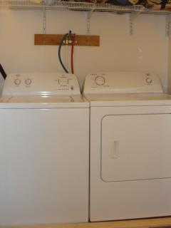 Full sized washer & dryer