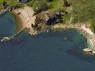 Waterfront beach bungalow attached but  private apartment