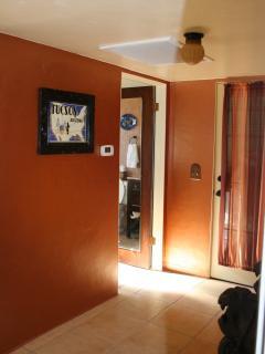 Hallway / entryway from carport