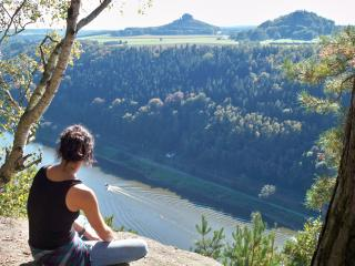 Saxon Switzerland: the entire castle like estate