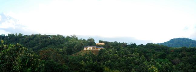 You and nature for miles. No neighbors for acres. A distant view of Hacienda Isabella and our other Villa de Shira.