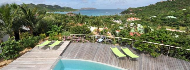 4 Bedroom Villa with Private Terrace overlooking Saint Jean Bay, St. Jean