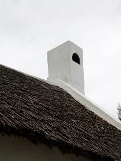 The Palmiet reed roof