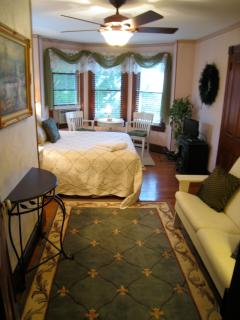 One of the three large bedrooms on the 2nd fllor