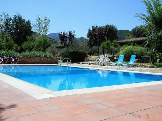 Villa Melissa, swimming pool and tennis court
