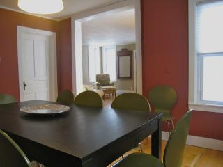 Wonderful living spaces, open dining and living rooms, lots of light!