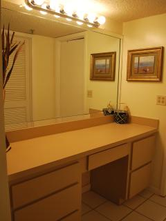 Dressing area in Master Suite