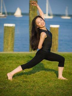 Jackie Liang - innkeeper/yoga teacher RYT500