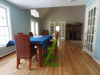 Waterfront sanctuary with modern amenities, Brewster