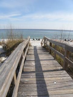 Boardwalk to the Gulf