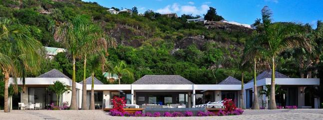 Palm Beach at Lorient, St. Barth - Luxury Villa, Heated Pool, Waterfront, St. Jean