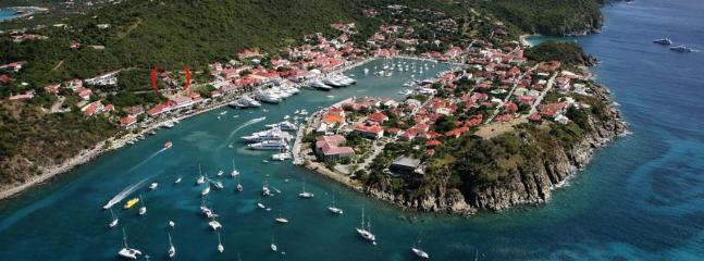 Tremendous 2 Bedroom on the Heights of Gustavia