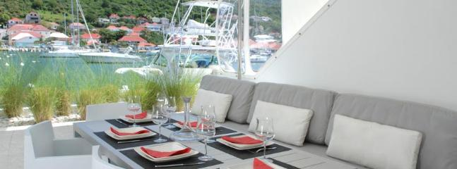 Harbour Loft at Gustavia, St. Barth - Harbour View, On The Dock, Walk To Beach, Restaurants And Shop