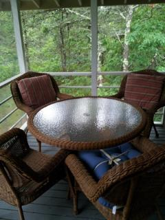 Morning Coffee; Afternoon Tea Porch