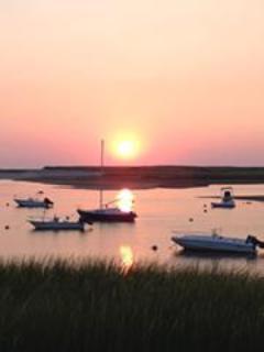 Pamet Harbor Sunset -Bayside & Tube rafting
