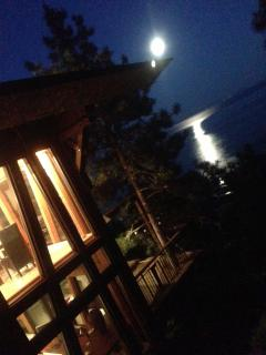 Plein Lune - terrasse de la cuisine