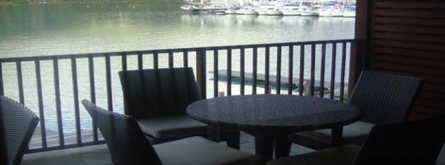 Balcony - marina view