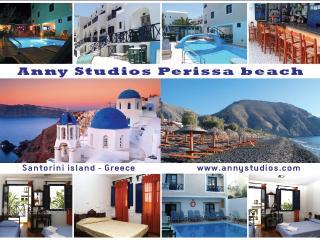 4 persons apt @ Anny's Perissa, Santorini