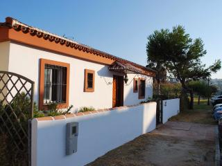 Villa on first line beach and golf courses, Casares