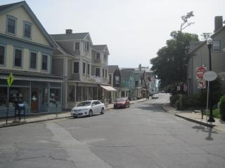 View toward shops and galleries