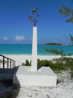 Wind Vane by the Tropic Of Cancer Beach..just a short walk from the house