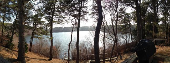 Backyard into Emery Pond