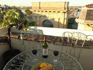 Bordeaux Terrace - spectacular view, historic centre