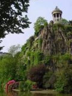 Parc Buttes Chaumont, Belvedere