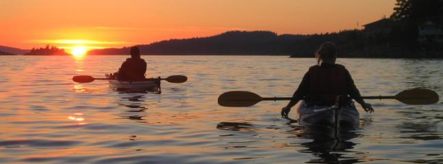 Kayaking in Gibsons...