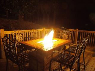 Fire pit at noght